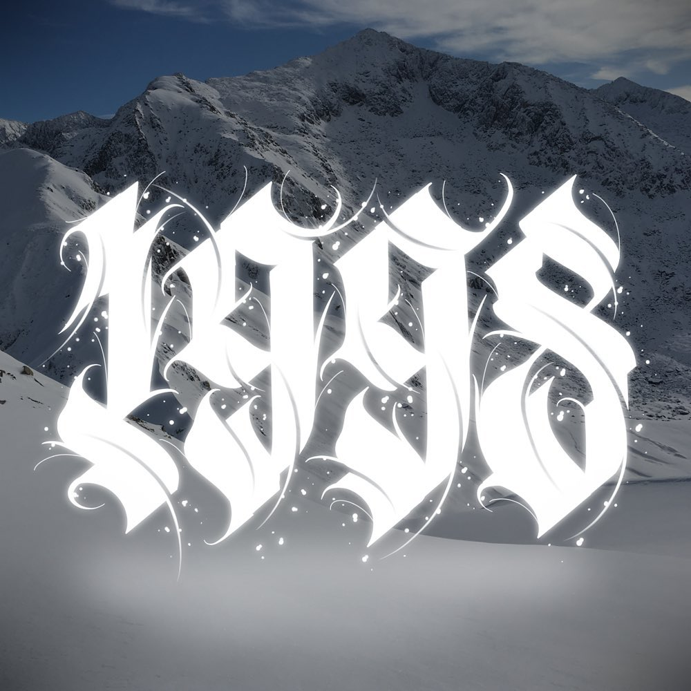 Calligraphie « 1998 »