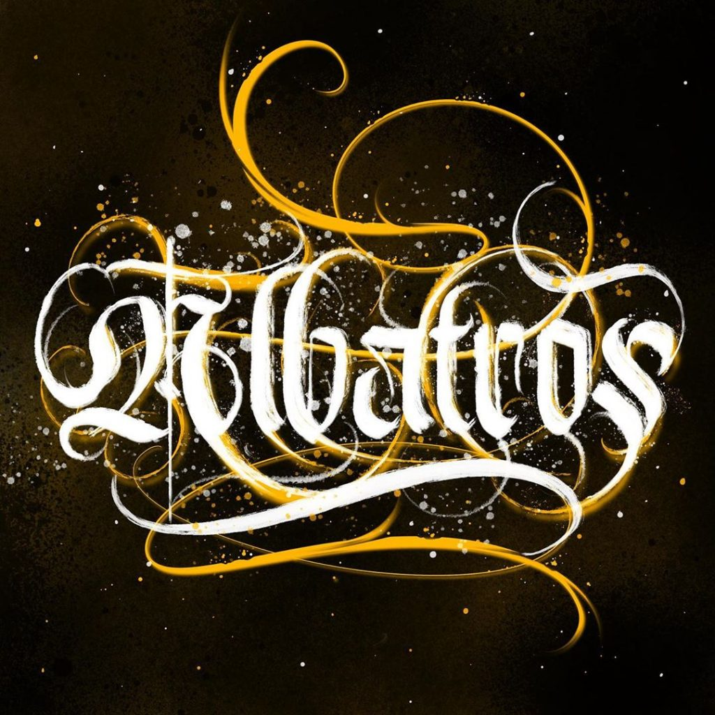Calligraphie « Albatros »