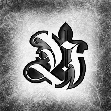 """Calligraphie """"Black H"""""""