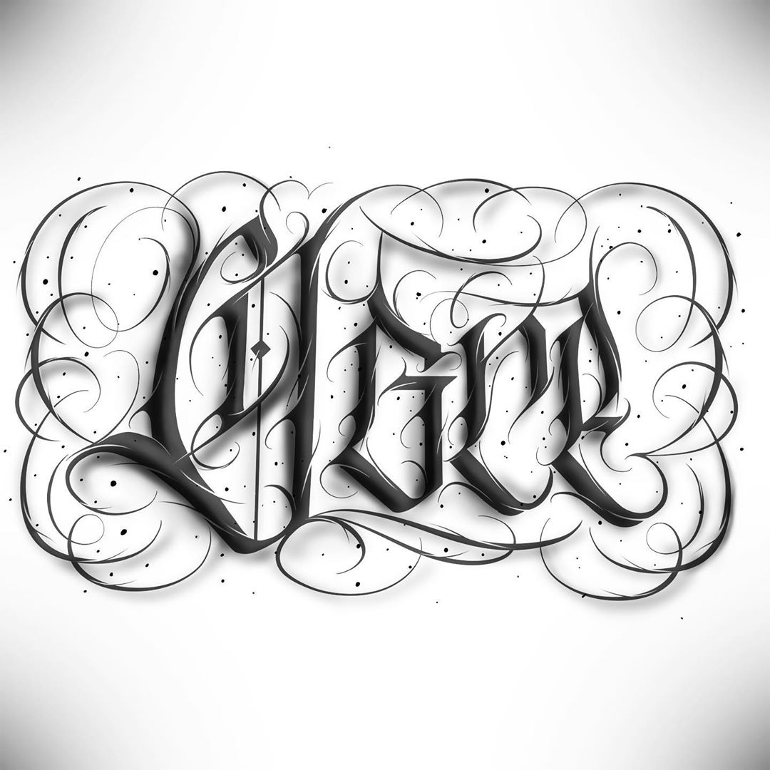 "Calligraphie ""Ogre"""