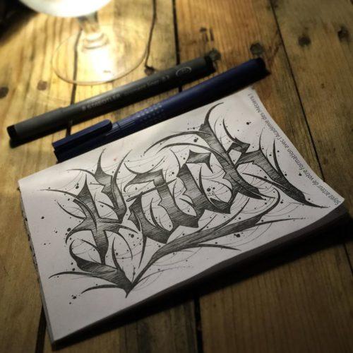 Calligraphie « Pack »