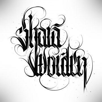 Calligraphie « Shara Worden »