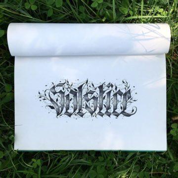 Calligraphie « Solstice »