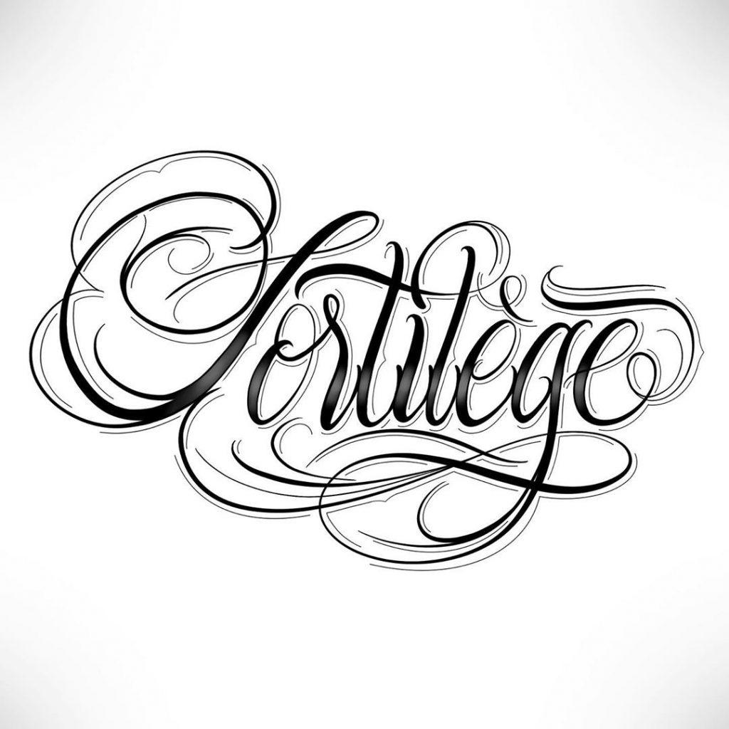 Calligraphie « Sortilège »