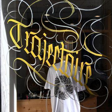 Calligraphie « Trajectoire »