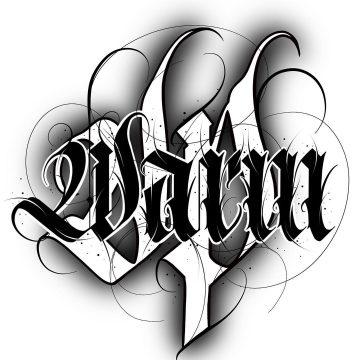Calligraphie « Warm Up »