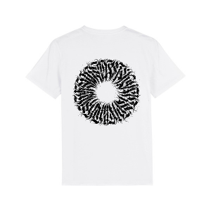 "T-shirt ""Milliseconds"" - Blanc"