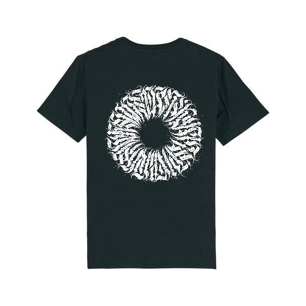 "T-shirt ""Milliseconds"" - Noir"
