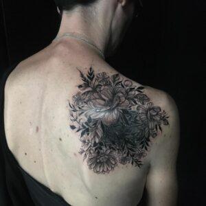 Tatouage floral - Cover - Après