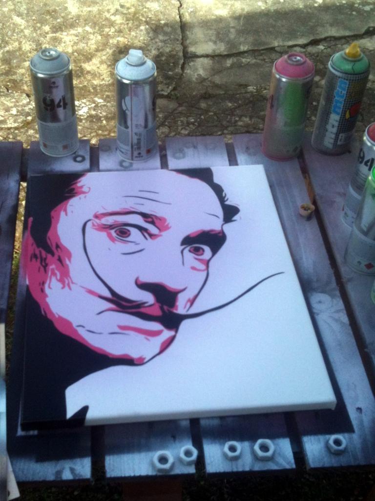 Peinture Salvador Dali
