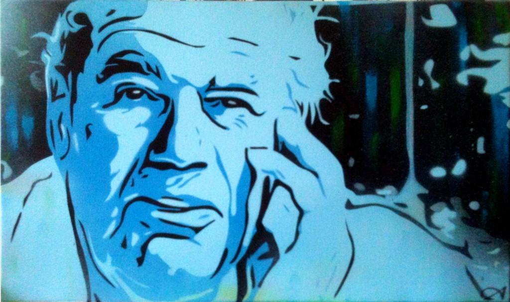 Peinture Grand-père
