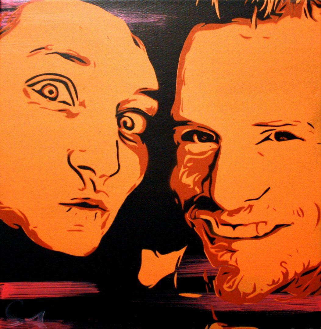 Peinture Laetitia & Alex