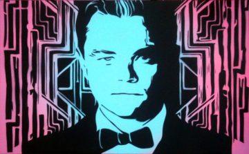 Peinture Leonardo DiCaprio