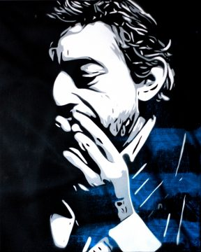 Peinture Serge Gainsbourg