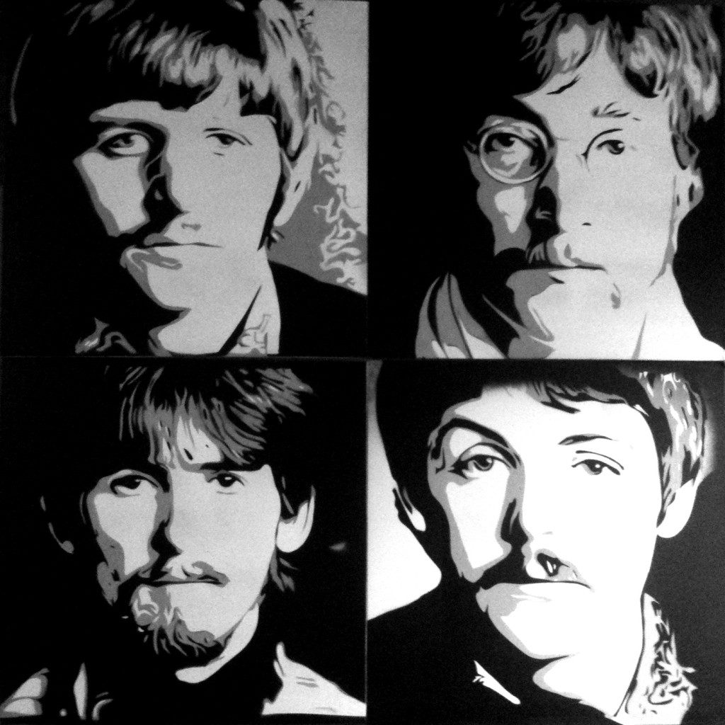 Peinture The Beatles