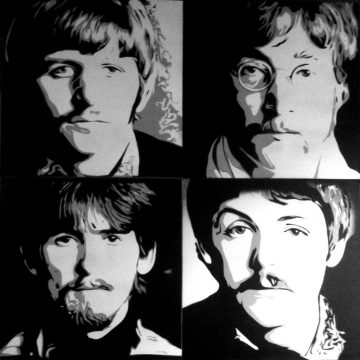 Peinture The Beatles