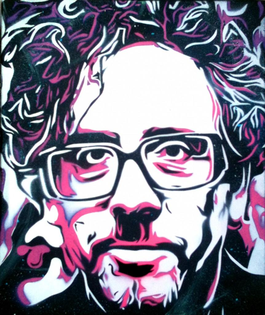 Peinture Tim Burton